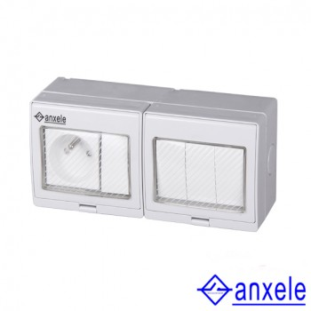 ASW-FR4S Waterproof French Style Socket and Switch