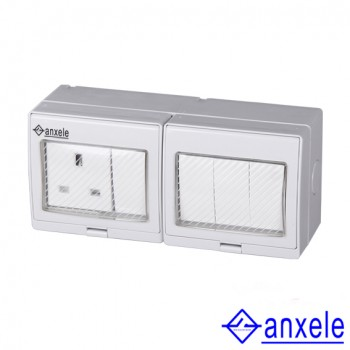 ASW-S4S Waterproof British Standard Socket and Switch