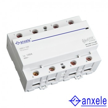 ASC1 3P/4P 100A Modular Contactors
