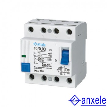 NRC6-100 4P Residual Current Circuit Breaker