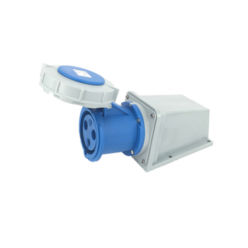 AS-128 Surface Mounted Socket 2P+N 63A 230V IP67