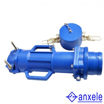 AS09 500A 3P+E+2  12000V IP67 Straight tube push-pull type