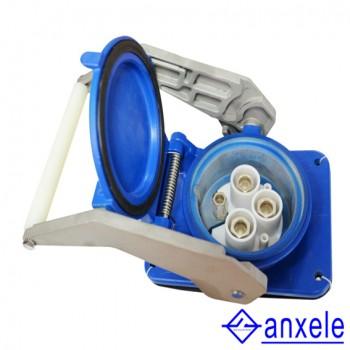 AS09 500A 3P+E+2  12000V IP67 Push-pull type socket