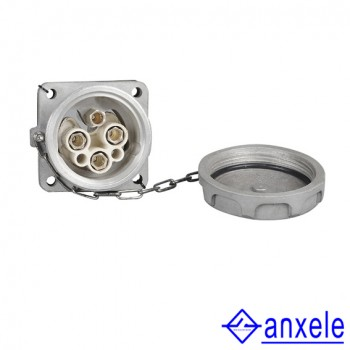 AS-03 250A 3P+E 690V IP67 Electrical Power Sockets