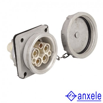 AS-04 250A 3P+N+E 690V IP67 Electrical Power Sockets