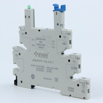 AS41F-1Z-C2 Relay socket