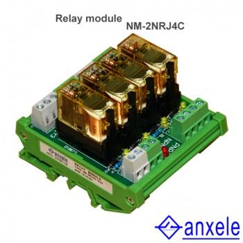 NM-2NRJ4 Relay Module
