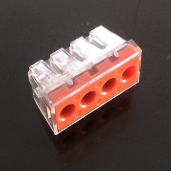 PCT-104D Compact Push Wire Connector