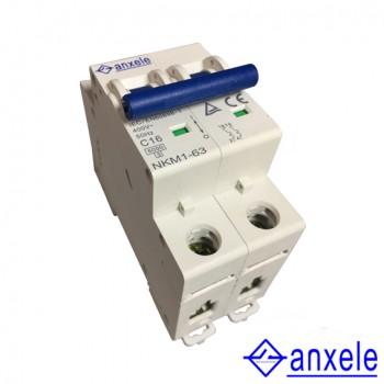 NKM1-63 2P Mini Circuit Breaker