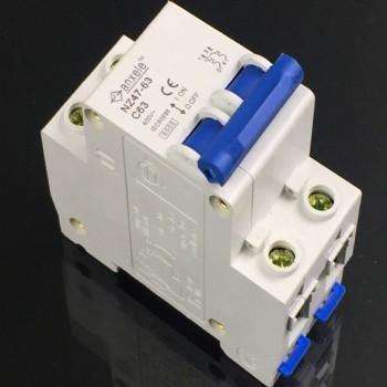 NZ47-63 2P Mini Circuit Breaker