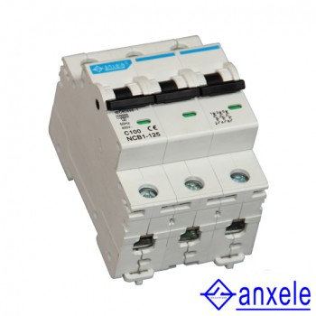 NCB1-125 3P Mini Circuit Breaker