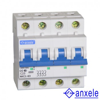 NKC1-63 4P Mini Circuit Breaker