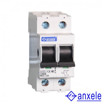 NKI1-125 2P Isolating switch