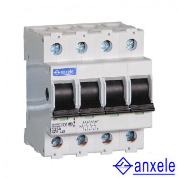 NKI1-125 4P Isolating switch