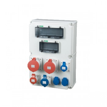 AESM-3 Series Combination Socket Boxes