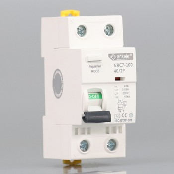 NRC7-100 2P Residual Current Circuit Breaker(RCCB)