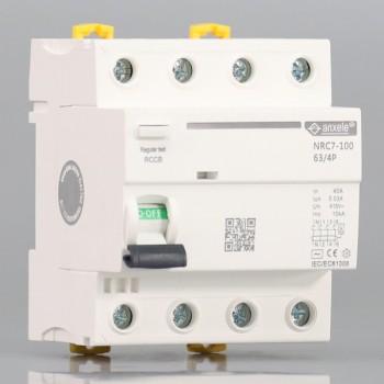 NRC7-100 4P Residual Current Circuit Breaker(RCCB)