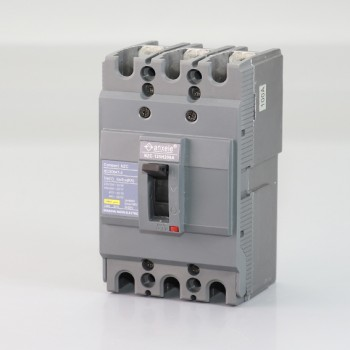 NZC125H-3P 100A Molded case circuit breaker