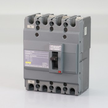NZC125H-4P 100A Molded case circuit breaker