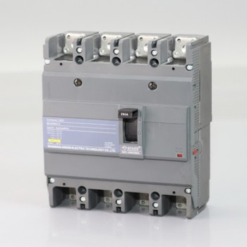 NZC250H-4P 200A Molded case circuit breaker