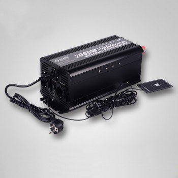 ASRV-2000 Remote control UPS Pure sine wave inverter with charger