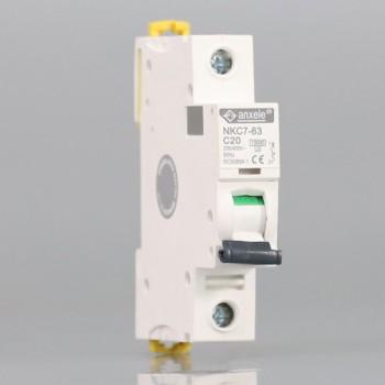 NKC7-63 1P Mini Circuit Breaker