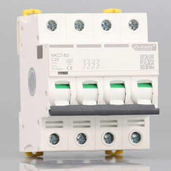 NKC7-63 4P Mini Circuit Breaker