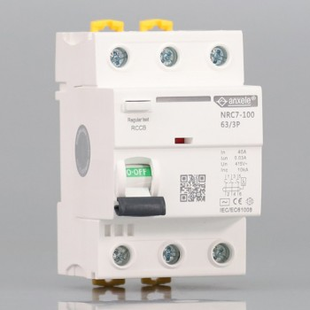 NRC7-100 3P Residual Current Circuit Breaker(RCCB)