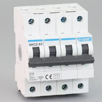 NKC2-63 4P Mini Circuit Breaker