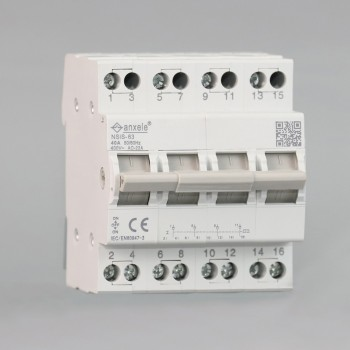 NSIS-63 4P Modular Changeover Switch