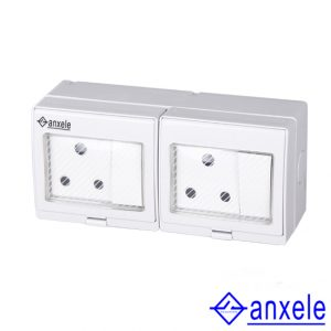 ASW-2SAS Waterproof Socket for South Africa and Switch