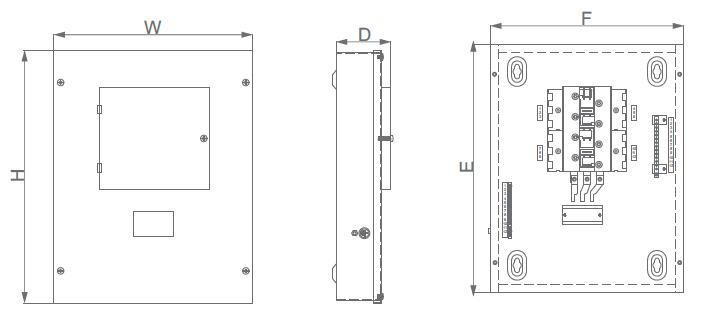 AMT(MEM) Flush Metal Branch Box