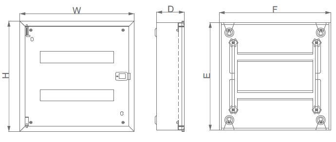 ASMR-III Flush Metal Branch Box