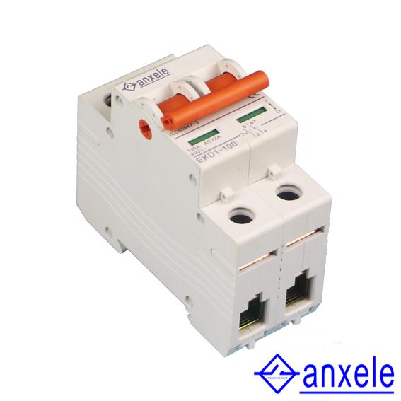 NKD1-100 2P Islation Switch