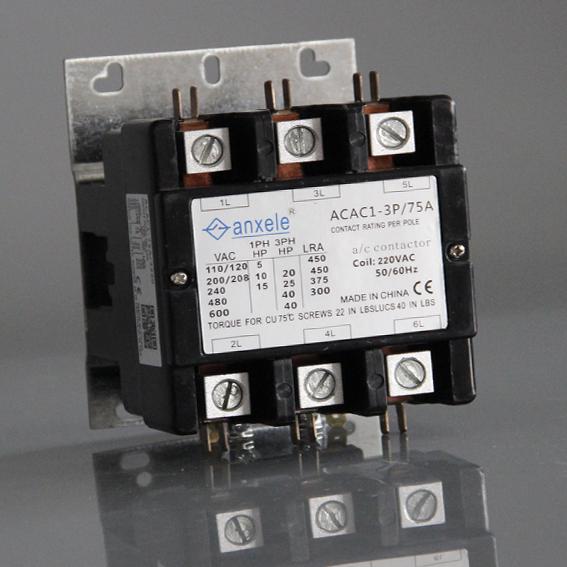 3p 75a Air Condition Contactor