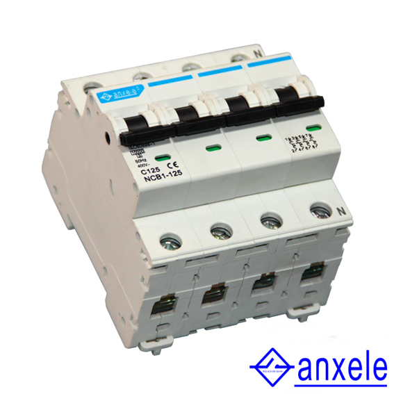 NCB1-125 4P Mini Circuit Breaker