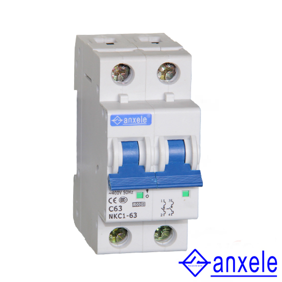 NKC1-63 2P Mini Circuit Breaker
