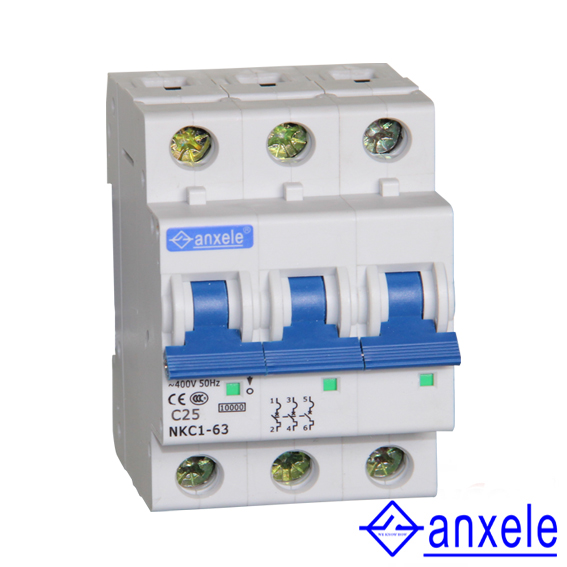 NKC1-63 3P Mini Circuit Breaker