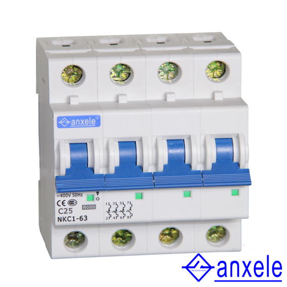 NKC1-63 4P Mini Circuit Breaker
