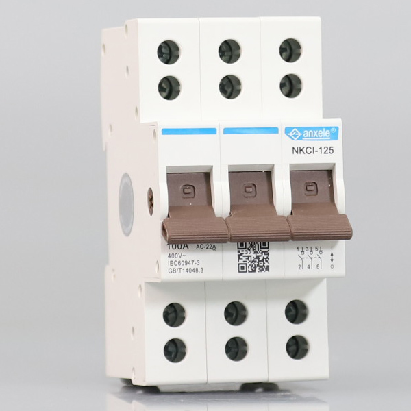 NKCI-125  125A 3P Isolator Switch