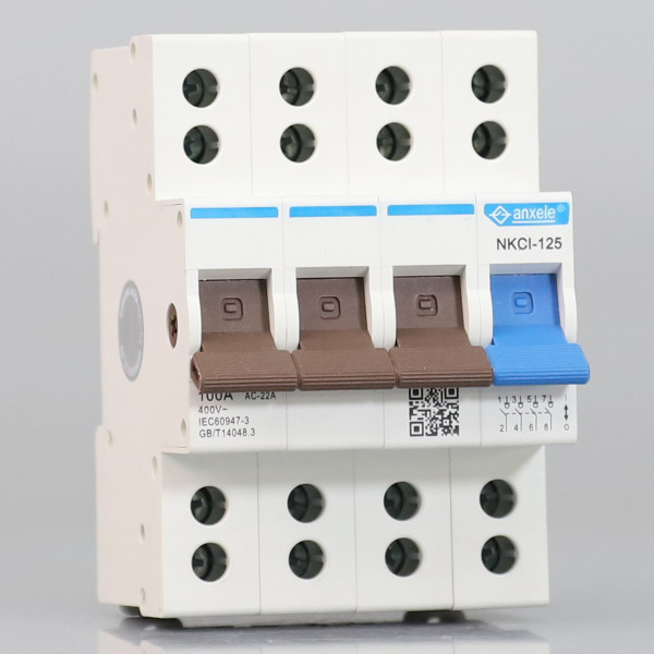 NKCI-125 125A 3P+N Isolator Switch