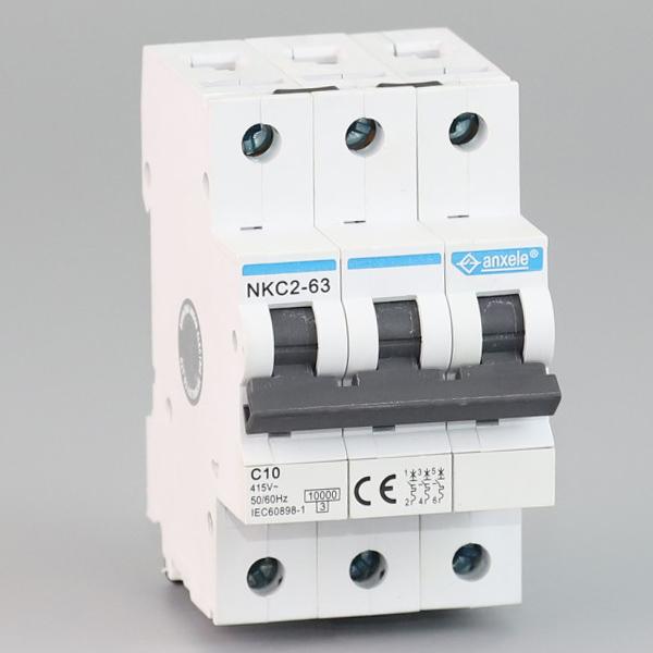 NKC2-63 3P Mini Circuit Breaker