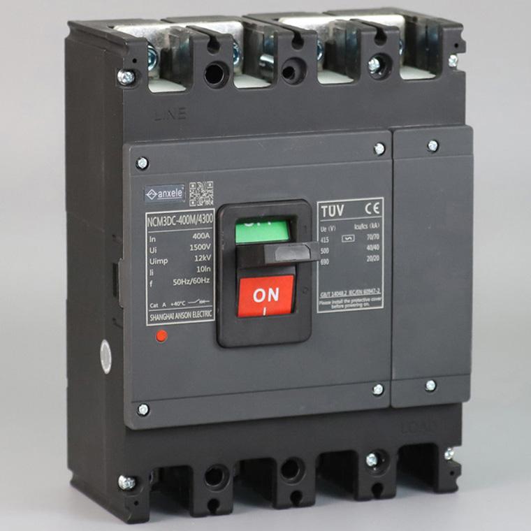 NCM3-400DC 1500V Molded Circuit Breaker